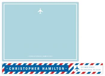 par avion Personal Stationery