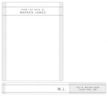 Warren Personal Stationery
