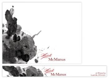 Cumulus Personal Stationery