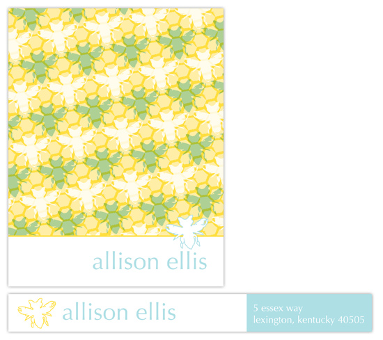 Beehive Buzz Personal Stationery