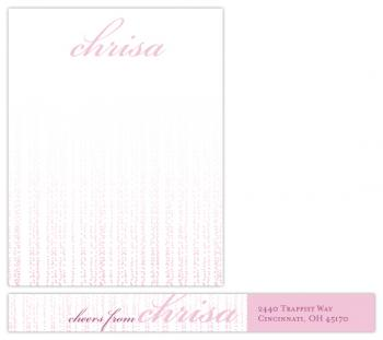 A Little Bubbly Personal Stationery