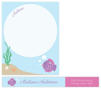 bubbles Personal Stationery