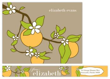 Vintage Orange Blossom