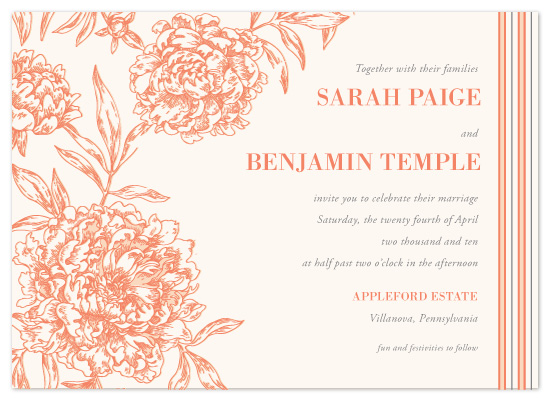wedding invitations - Secret Garden by Milkmaid Press