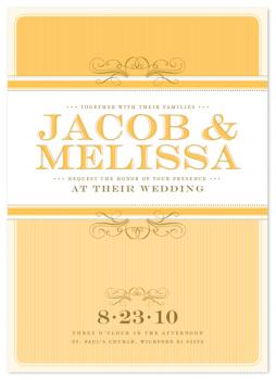 summer's eve Wedding Invitations