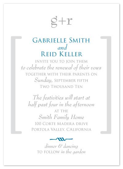 wedding invitations - Gabi by papercake gal