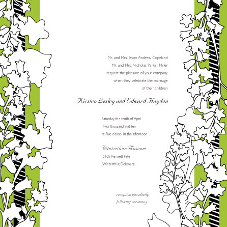 wedding invitations - Fresh Spring  Flowers by Lisa Travis