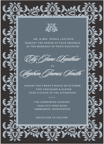 wedding invitations - French Affair by Sunflower