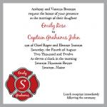 Firefighter Wedding by branovy creative