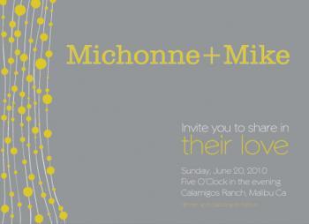 PomLove Wedding Invitations