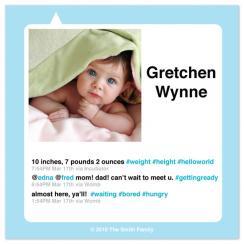 tweetly-tweet Birth Announcements