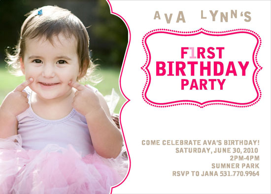 birthday party invitations - Summer Sweetness by Cori Sands