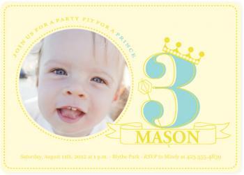 monarch Birthday Party Invitations