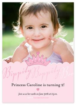 Bippity Boppity Boo Birthday Birthday Party Invitations