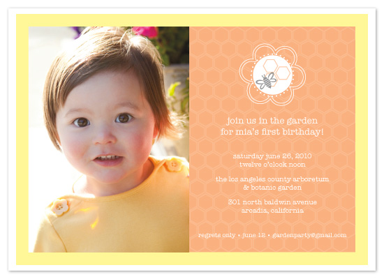 birthday party invitations - Lovely Garden Party by Sashi & Miko