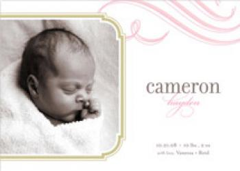 cloud nine Birth Announcements