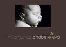 birth announcements - Warm Rosette by kelli hall
