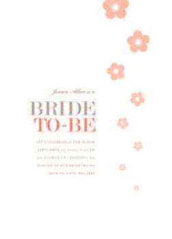 Blossom Shower Wedding Stationery