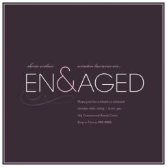 En&aged Wedding Stationery