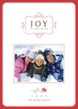 simple charm Holiday Photo Cards