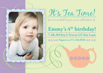 Whirly Twirly Tea Party