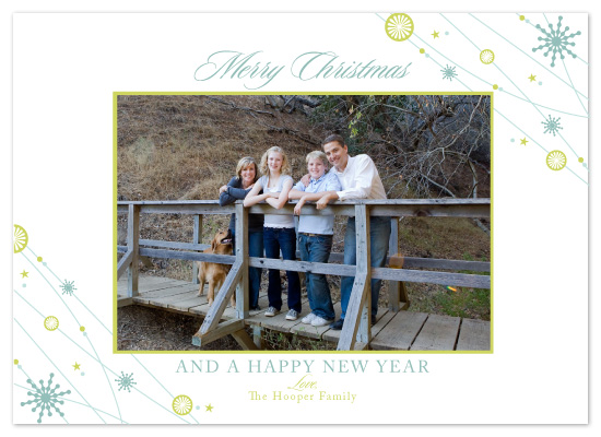 holiday photo cards - Merry Strands by SunnyJuly