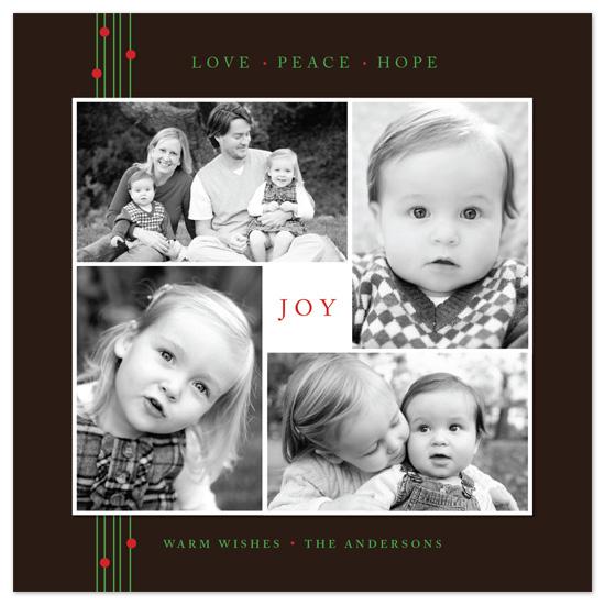 holiday photo cards - Warm Wishes by Jana Volfova