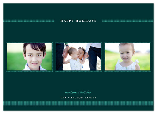 holiday photo cards - dotty dotty by Spinsugar