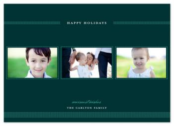 dotty dotty Holiday Photo Cards