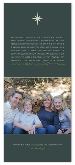 holiday photo cards - Good Will Toward Men by Kelly Nasuta