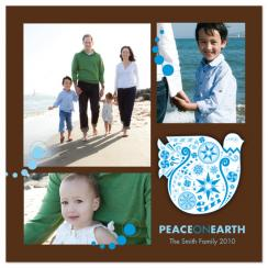 Flying Spirit Holiday Photo Cards