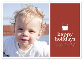 mod gift Holiday Photo Cards