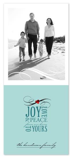 holiday photo cards - Holiday Wishes by Jana Volfova