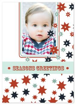 Stars Photo Card Holiday Photo Cards