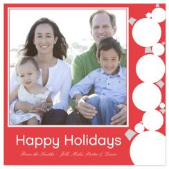 Holiday Ornaments Holiday Photo Cards