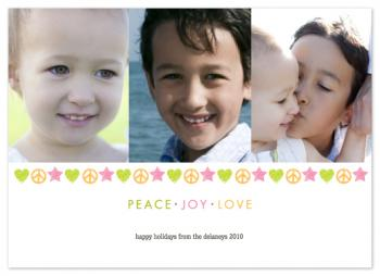 PEACE . JOY . LOVE