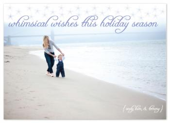 Whimsical Wishes Holiday Photo Cards