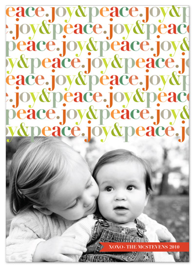 holiday photo cards - peppyjoy by stacey day