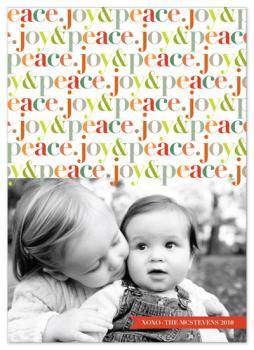 peppyjoy Holiday Photo Cards