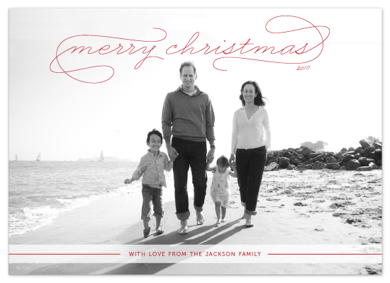 holiday photo cards - Gallery Classic by Sydney Newsom