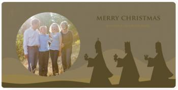 trois Holiday Photo Cards