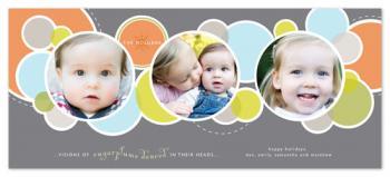 Sugarplums Holiday Photo Cards