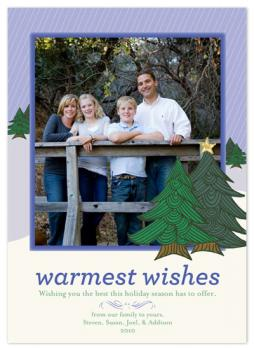 Snowscape Holiday Photo Cards