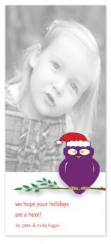 Hoot to the Holidays Holiday Photo Cards