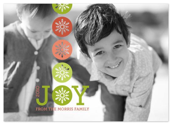 holiday photo cards - sharing joy by Karen Glenn