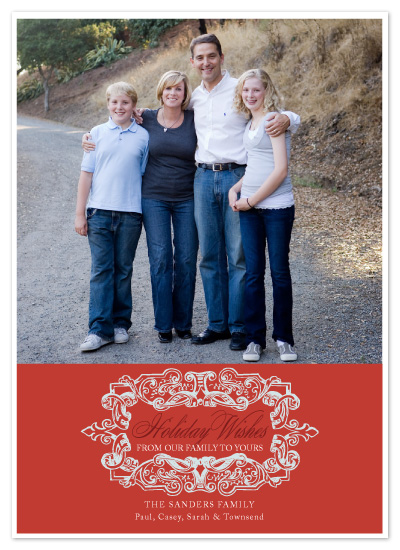 holiday photo cards - Simply Framed by SunnyJuly
