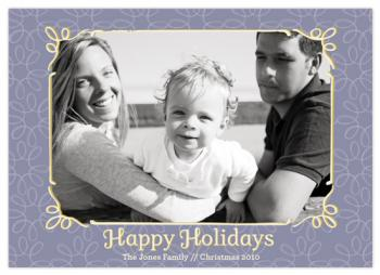 Happy Holidays Holiday Photo Cards