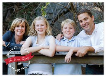 Holiday Seal Holiday Photo Cards