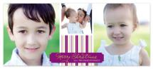violet striped holiday by Katie Leggitt