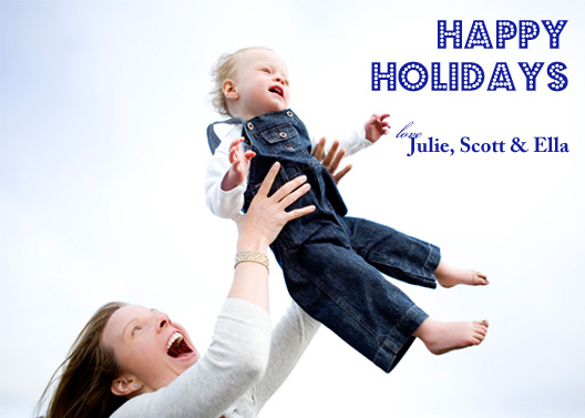 holiday photo cards - Joy in the Air by Simply Paige